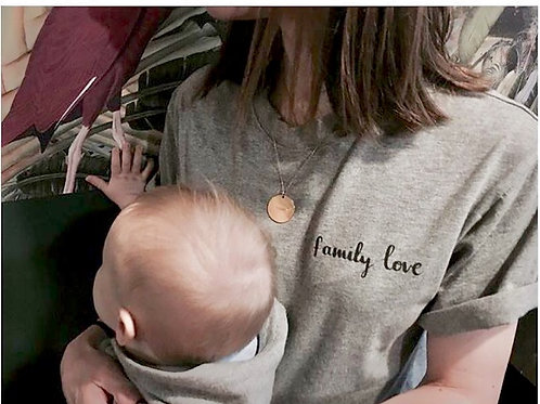 "t-shirt ""family love"""
