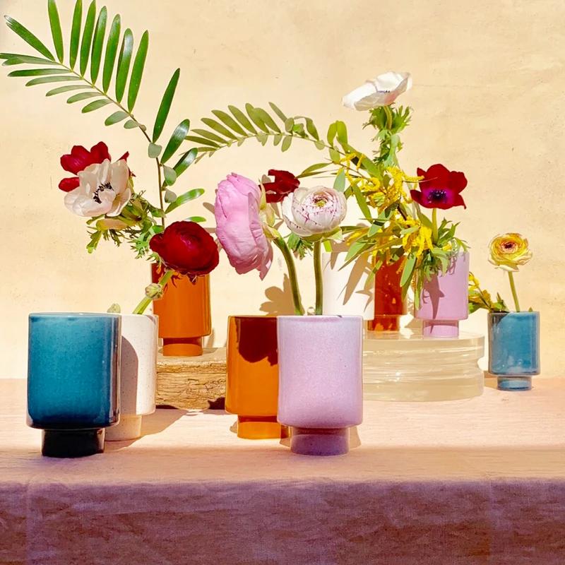 Kaya solid ceramic cups by Justina Blakeney. Image courtesy Jungalow.