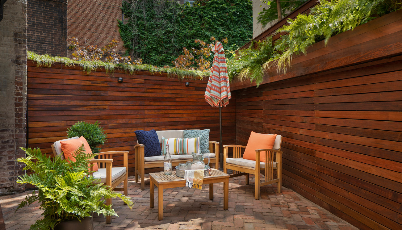 Staghorn NYC West Village Backyard Garden Design