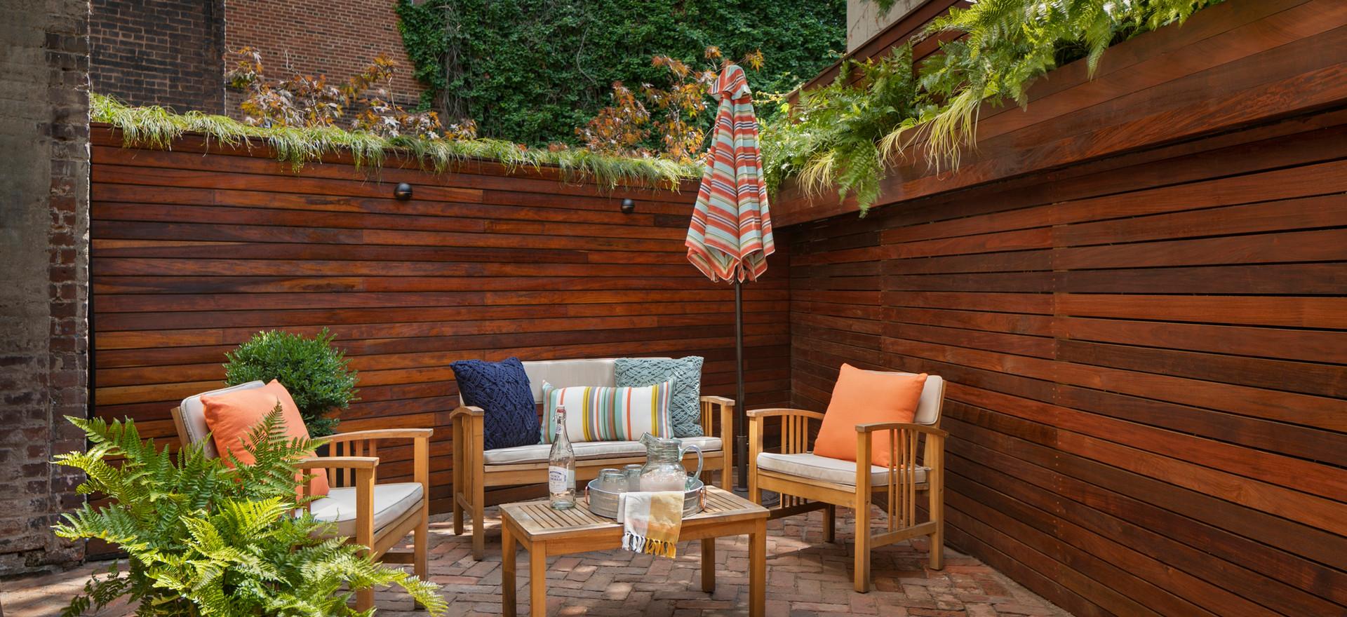 Staghorn NYC West Village Backyard Garden Design