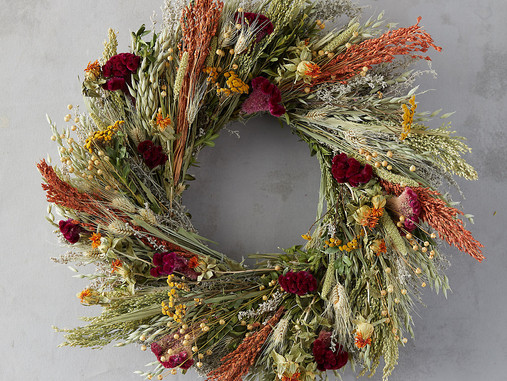 3 Wreaths for an Autumnal Entryway