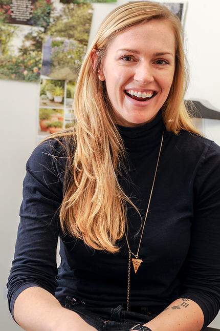 Katherine Aul Cervoni is the founder of The Cultivation and Staghorn NYC, a landscape design firm.