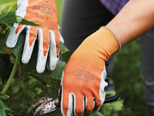 In the Garden: Gloves + Hand Care
