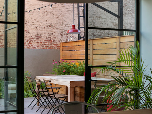 Behind the Design | Carroll Gardens Backyard