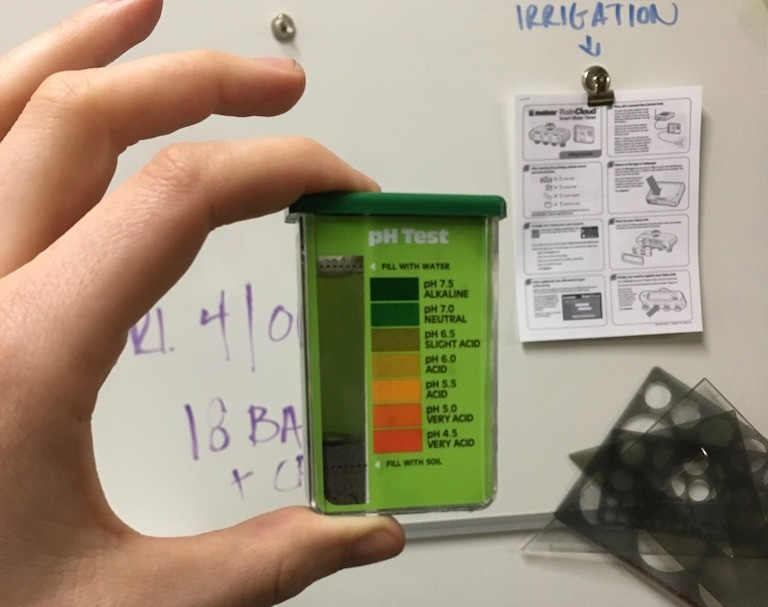 It's easy to learn about your soil's pH level with an at-home test kit.