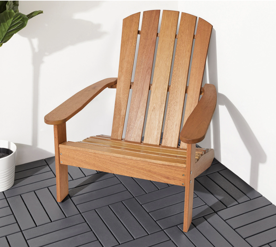Kloven adirondack chair from Ikea.