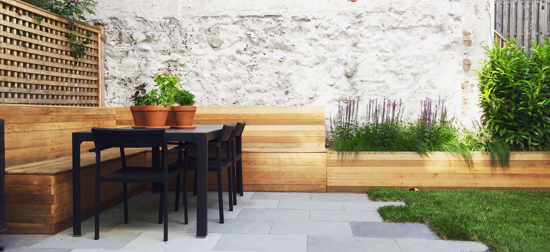 Staghorn NYC Small Family-Friendly Backyard Garden