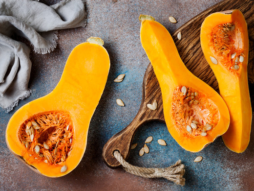 In the Kitchen: Butternut Squash with Sage