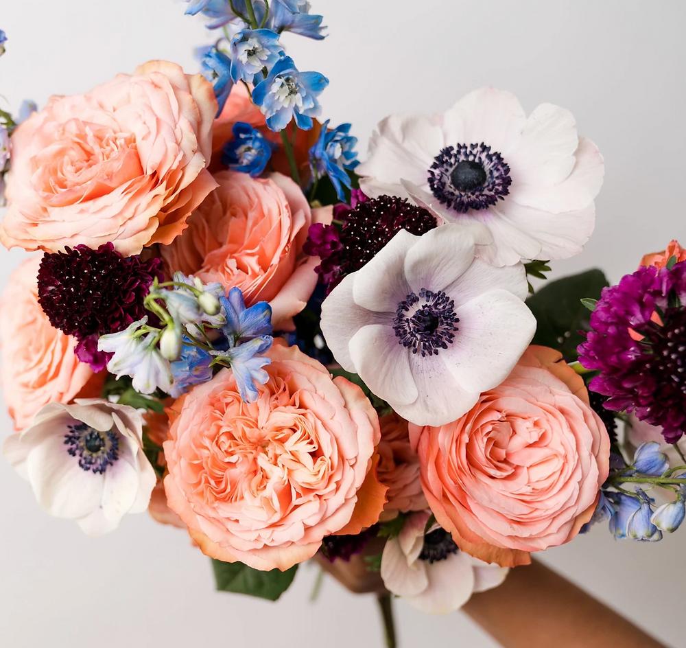 Bouquet from Poppy Flowers.