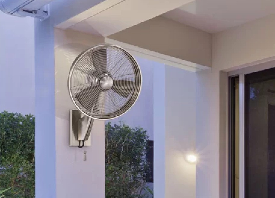 Minka Aire Anywhere Wet Rated Wall Fan.