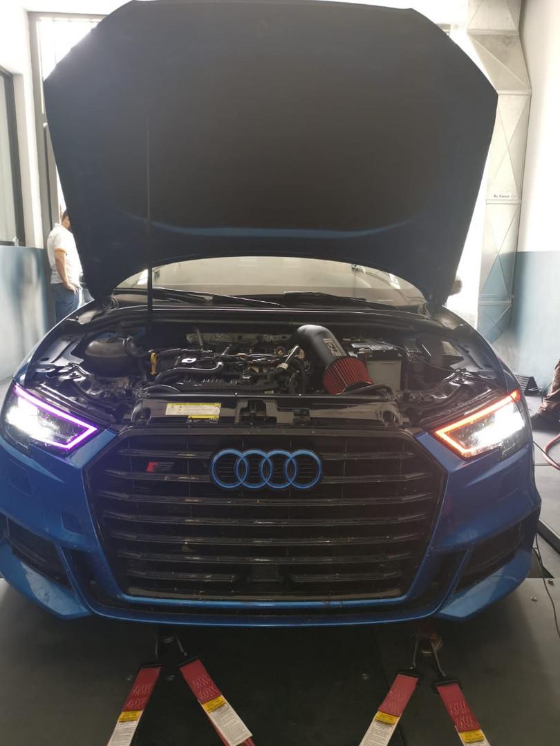 Audi S3 listo para el Dyno!