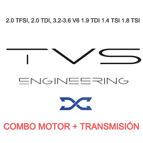 COMBO REPROGRAMACIÓN S-TRONIC DQ250 Y MOTOR / TVS DYNAMICAR