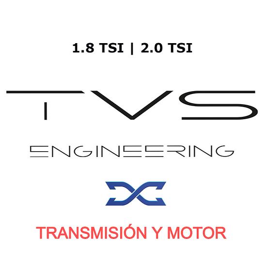 COMBO REPROGRAMACIÓN S-TRONIC DQ381 y MOTOR TVS DYNAMICAR