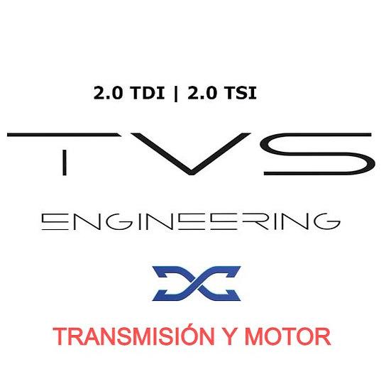 COMBO REPROGRAMACIÓN DSG DQ500 y MOTOR TVS DYNAMICAR Tiguan y AudiQ3