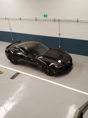 Corvette C7 listo para la pista!