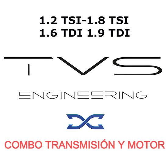 COMBO REPROGRAMACIÓN S-TRONIC DQ200 Y  MOTOR / TVS DYNAMICAR