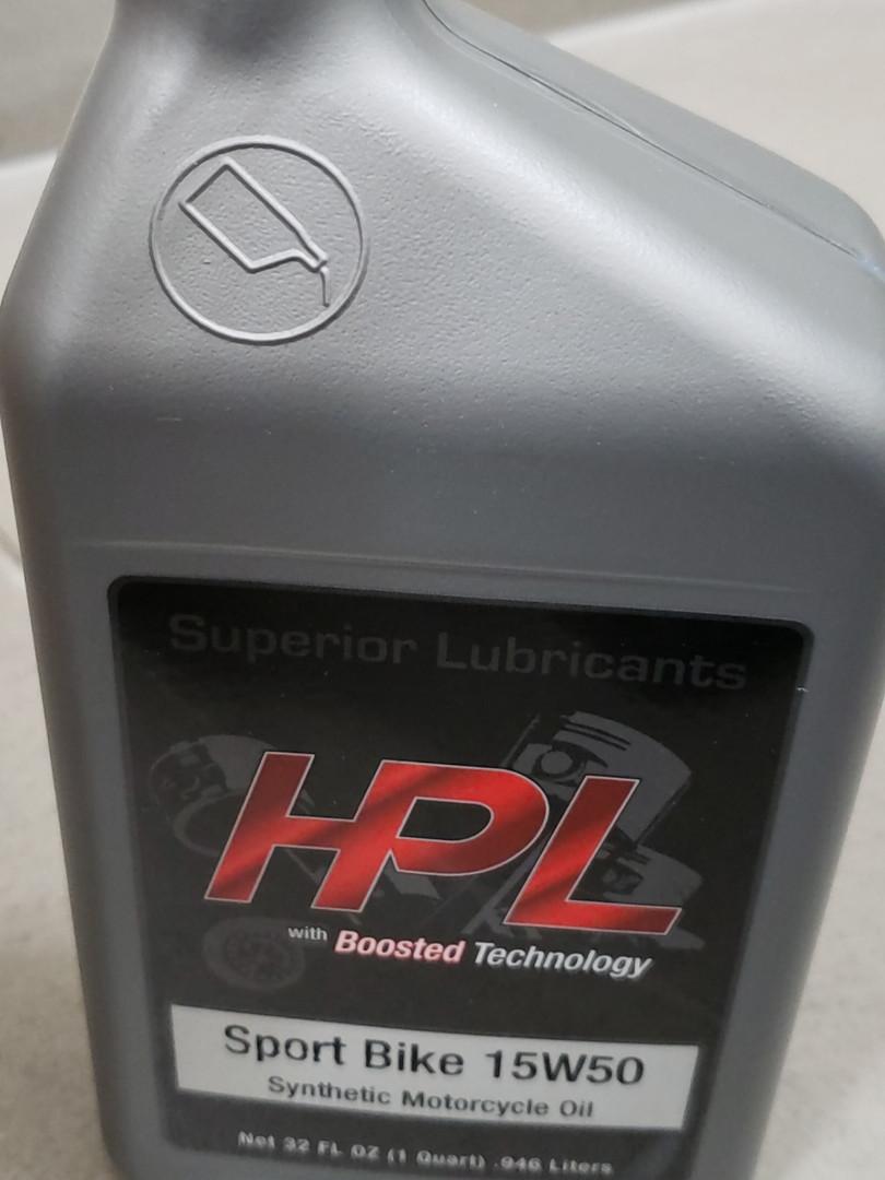 hplsport bike 15w50