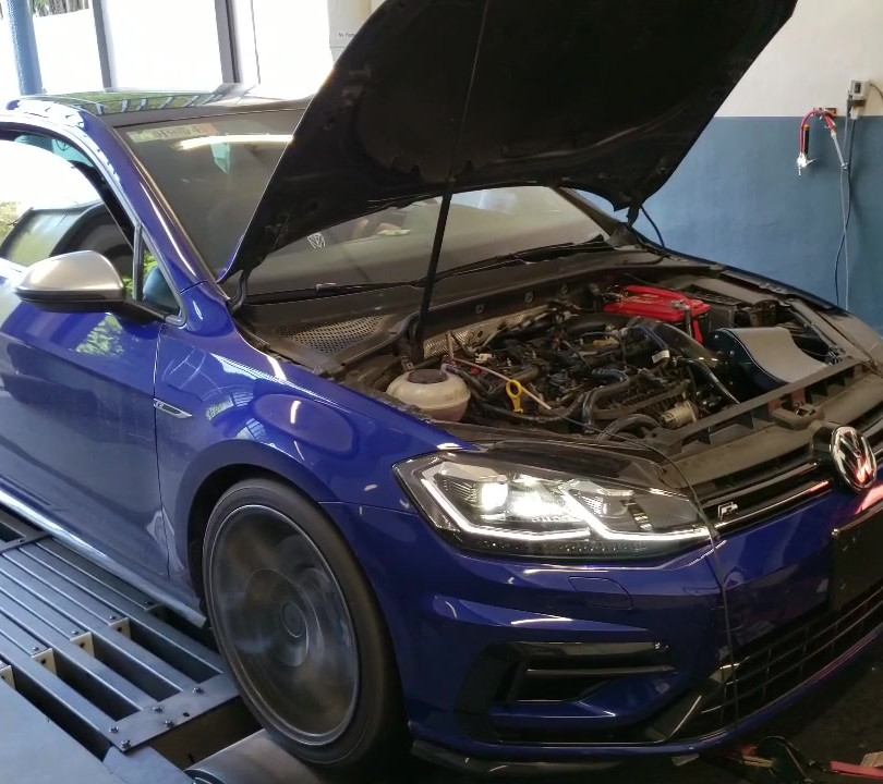 Thor Golf R full boost!