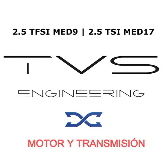 COMBO REPROGRAMACIÓN DQ500 S y MOTOR TVS DYNAMICAR  RS3 y TTRS