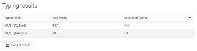 EPISEQ CS What you get - Typing per samp