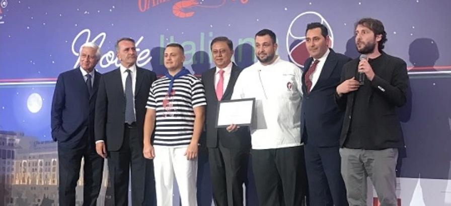 "LUIGIA DUBAI WINS INTERNATIONAL ""GAMBERO ROSSO"" AWARD FOR BEST PIZZERIA"