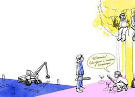 Ickevåld och massaktioner