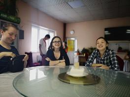 Civilkurageträning i Kirgizistan