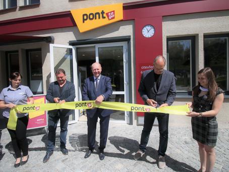 Otevřena další prodejna PONT to go - autobusové nádraží Český Krumlov