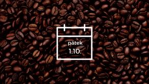 Mezinárodní den kávy oslavíme v našich kavárnách