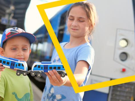 Vyhrajte díky PONTům unikátní dřěvěný model českého vlaku