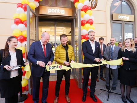 Oficiální otevření PONT to go Praha Masarykovo nádraží