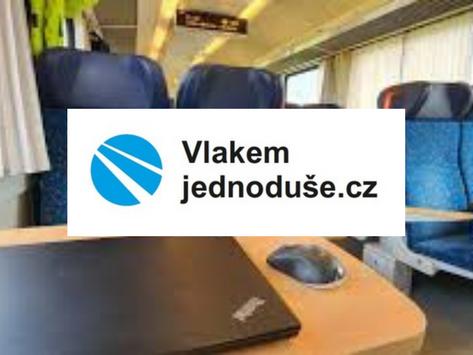 Zajímavý projekt vlakemjednoduše.cz