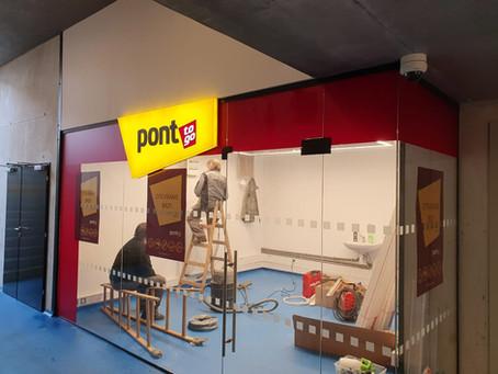 Nová prodejna PONT to go Benešov