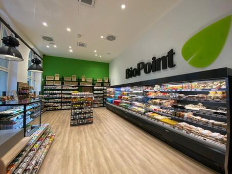 Otevření nové prodejny BioPoint na Masarykově nádraží