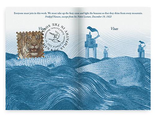 Lenticular Print   Whale