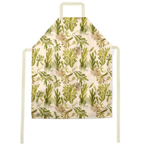 Seaweed Jungle Apron