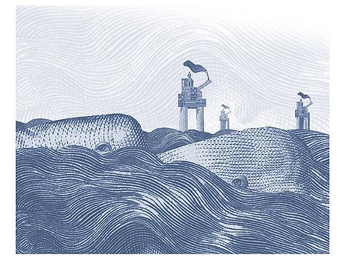 """From Nansen's Pastport """"WHALES"""""""