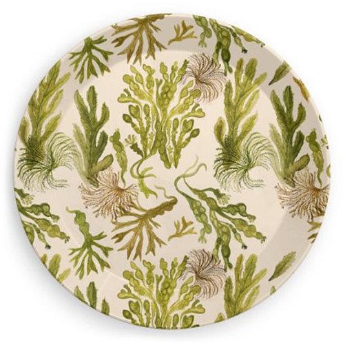 Seaweed Jungle Party Plates (single)