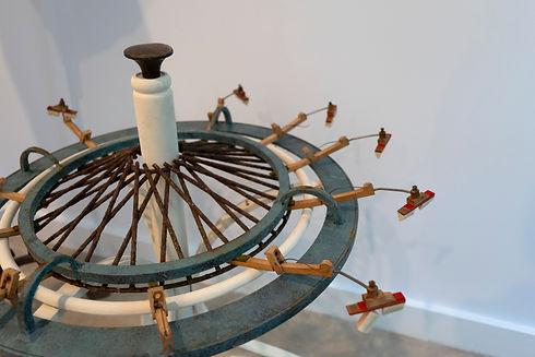 Madeleine Beech, Ferris Wheel, 2020, woo