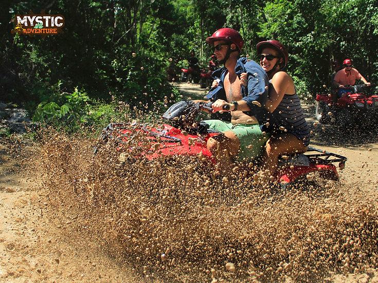 ADVENTURE ATV, ZIP LINES AND CENOTE TOUR