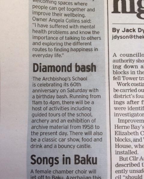 Canterbury Archers Diamond Bash