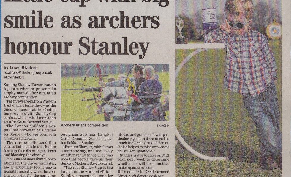 Canterbury Archers Little Stanley Cup