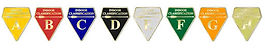 Canterbury Archers Indoor Classification Badges