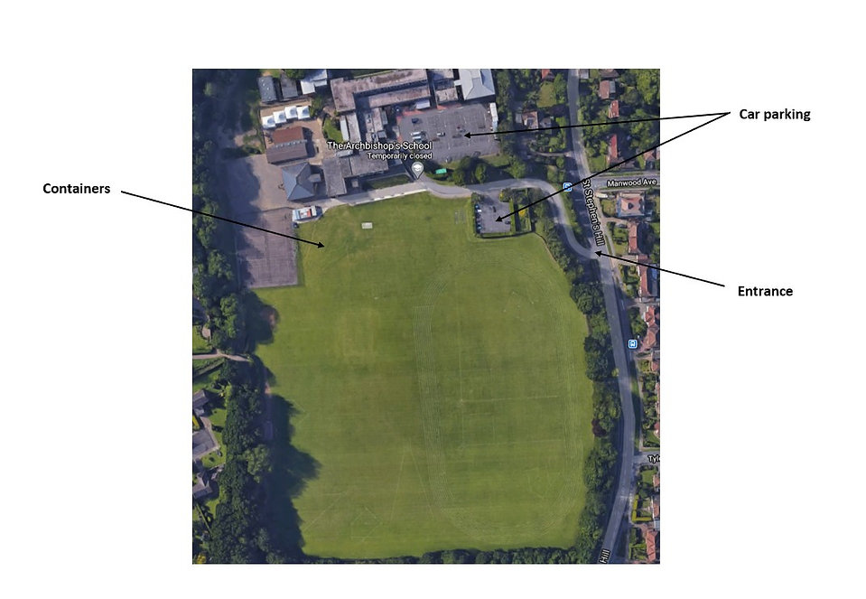 Canterbury Archers Site Map