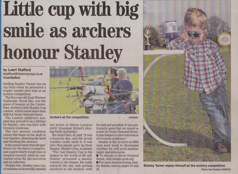Canterbury Archers Fundraising