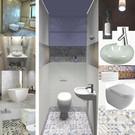 projekt toalety w bloku