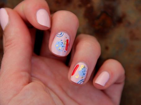 Nail art Astro - Gémeaux