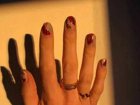 Un nail art facile sans matériel
