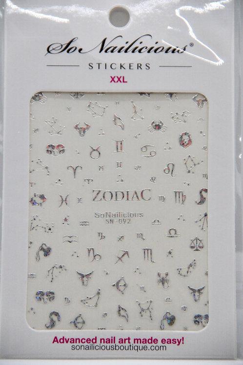 XXL Holographische Tierkreisaufkleber ♎️