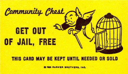Get out of jail, free card